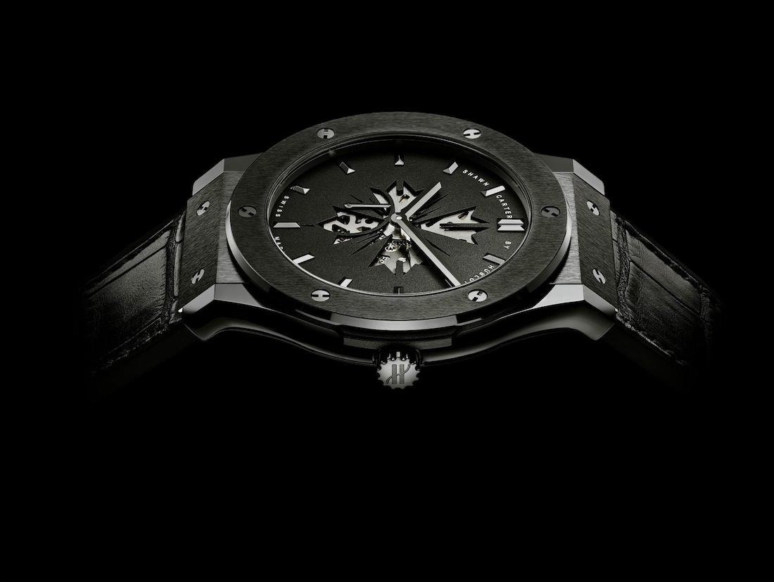 hublot watches jay z Jay Zs Shawn Carter Classic Fusion Limited Edition By Hublot