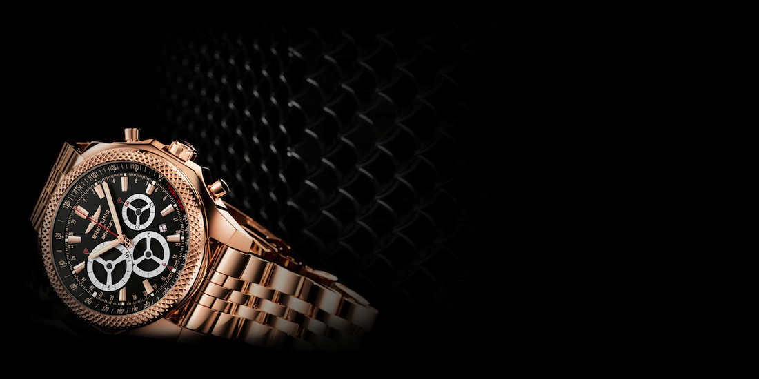 breitling montre or