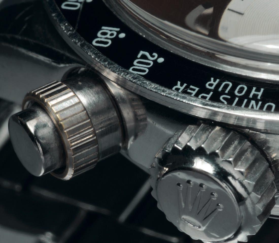 Rolex black 1