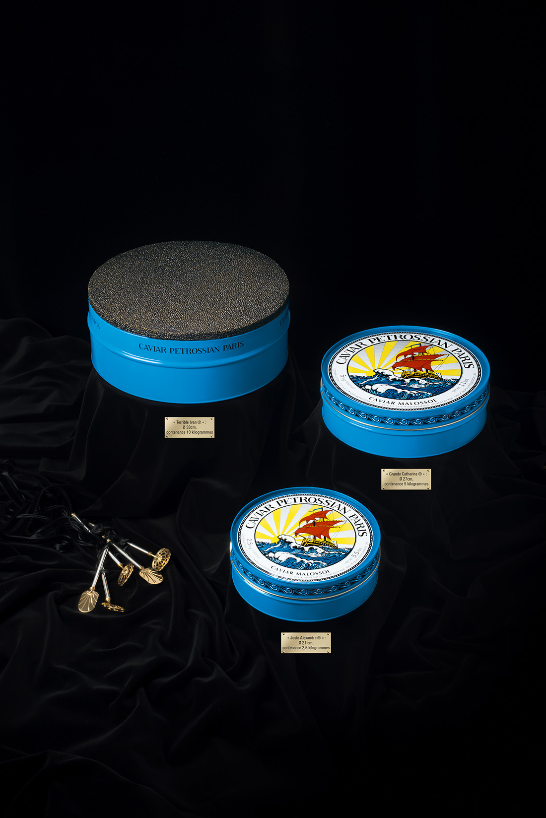 Largest Tin Of Caviar In The World