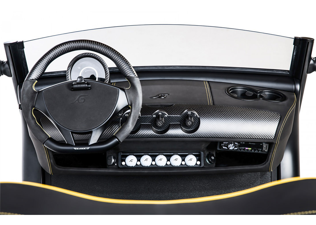 Garia Mansory Currus The Ultimate Luxury Golf And