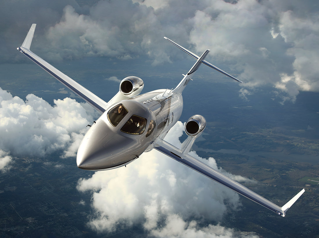 The honda jet the world s most advanced light business for Honda private jet