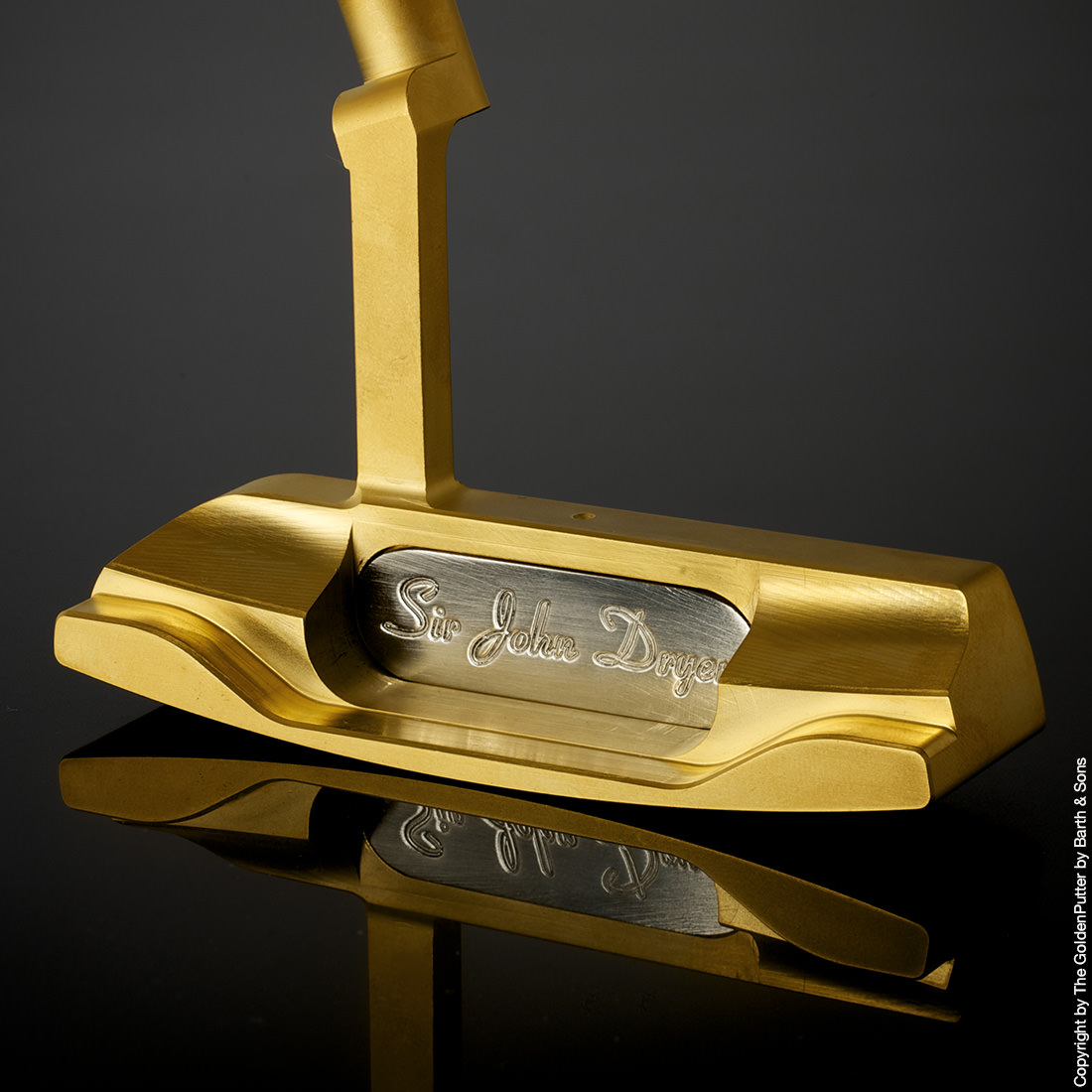 The GoldenPutter : the worlds most exclusive putter