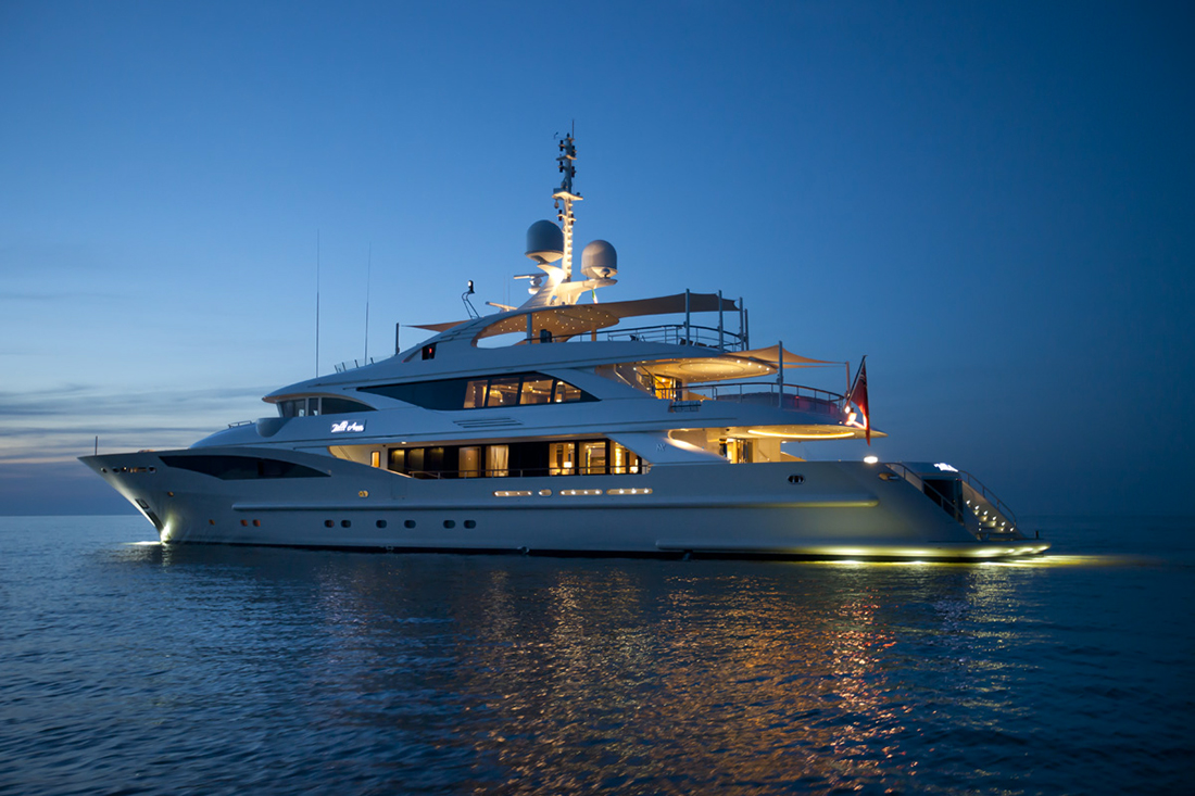 Belle Anna Yacht by ISA Yachts : Spectacular design