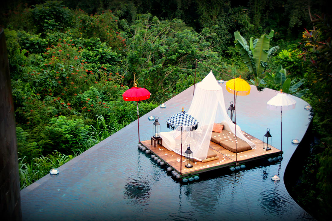 Resultado de imagen de Hotel Ubud Hanging Gardens, Indonesia