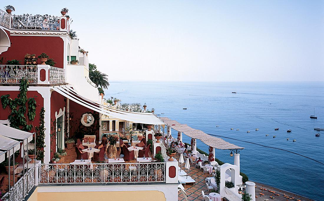 Le Sirenuse Hotel In Positano