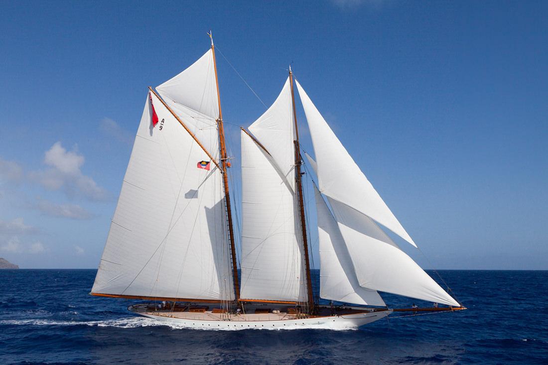 Elena schooner old style elegance - Photo de voilier gratuite ...