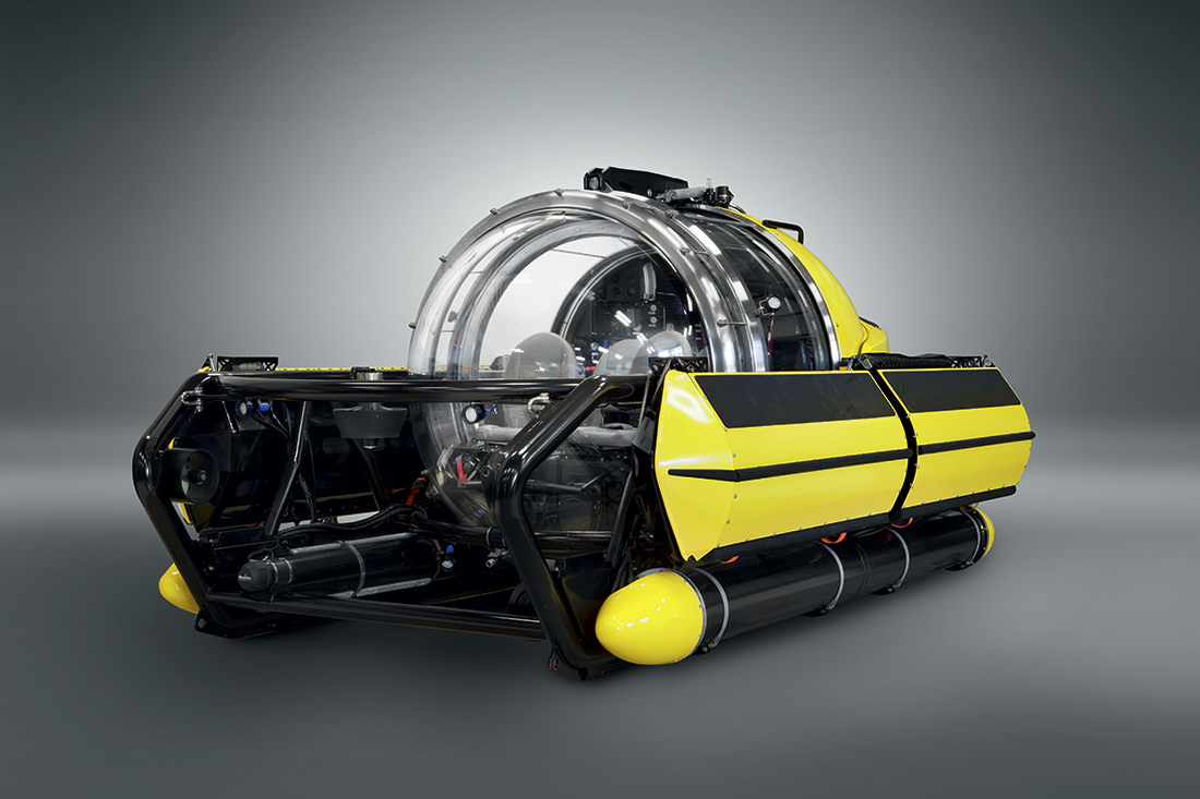 the first underwater limousine by u