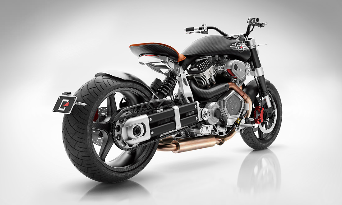 The X132 Hellcat Speedster The 65k Confederate Motorcycle