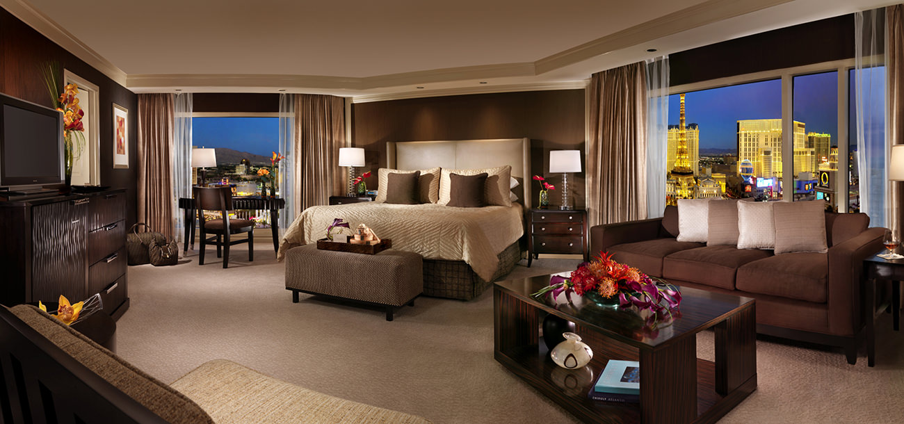 Las Vegas Hotels With 2 Bedroom Suites The Bellagio Las Vegas Iconic Luxury