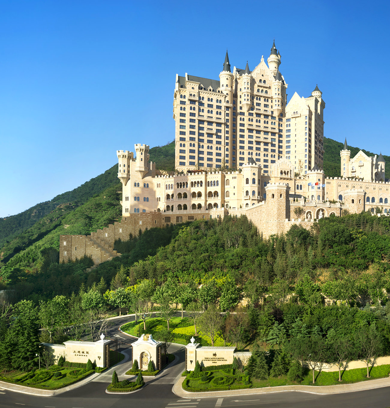 The castle hotel a luxury collection hotel dalian an for Luxury hotel collection