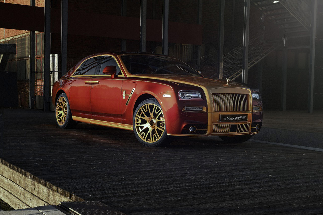 Mansory unveils customized Rolls-Royce Ghost Series II