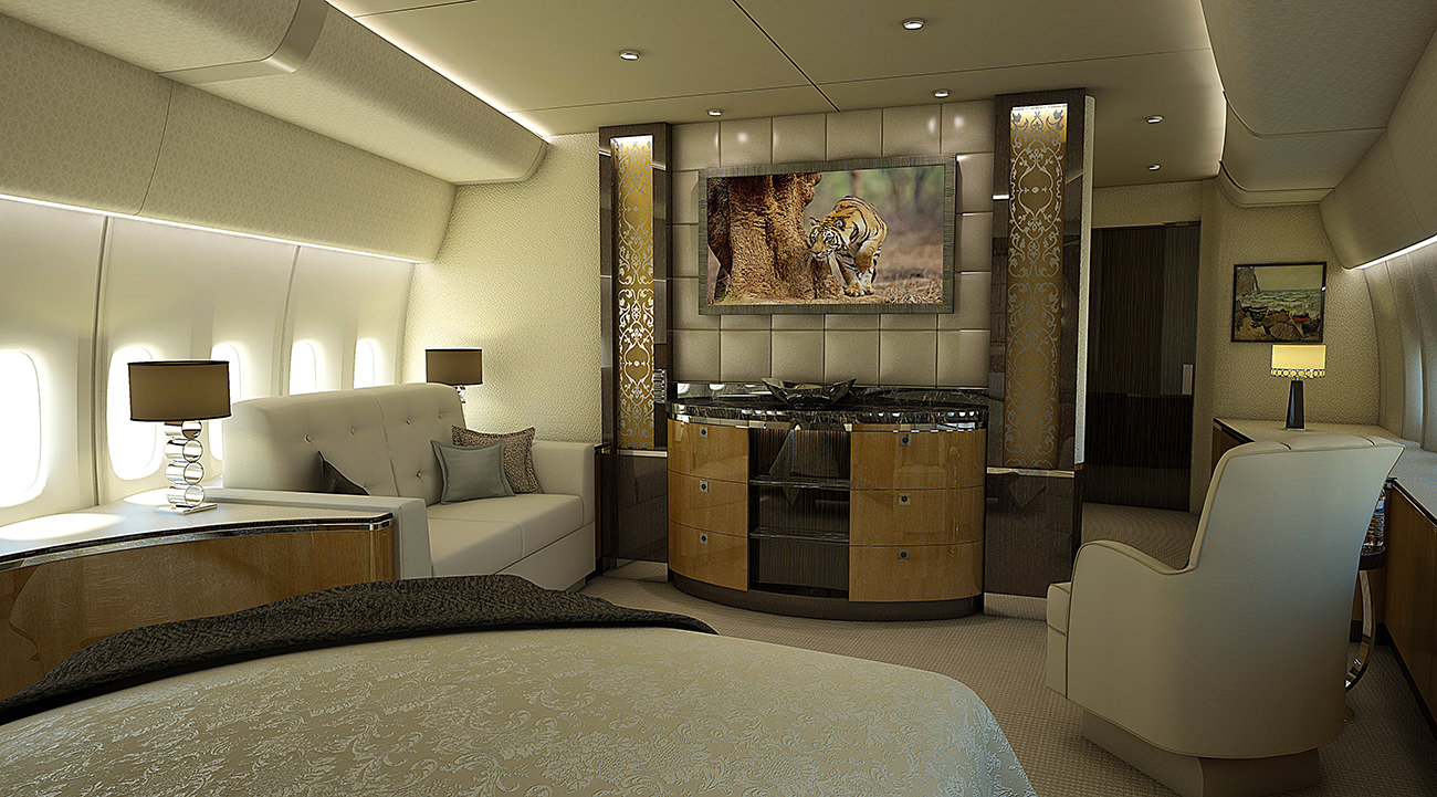 Greenpoint Delivers First 747‐8 Vip Completion