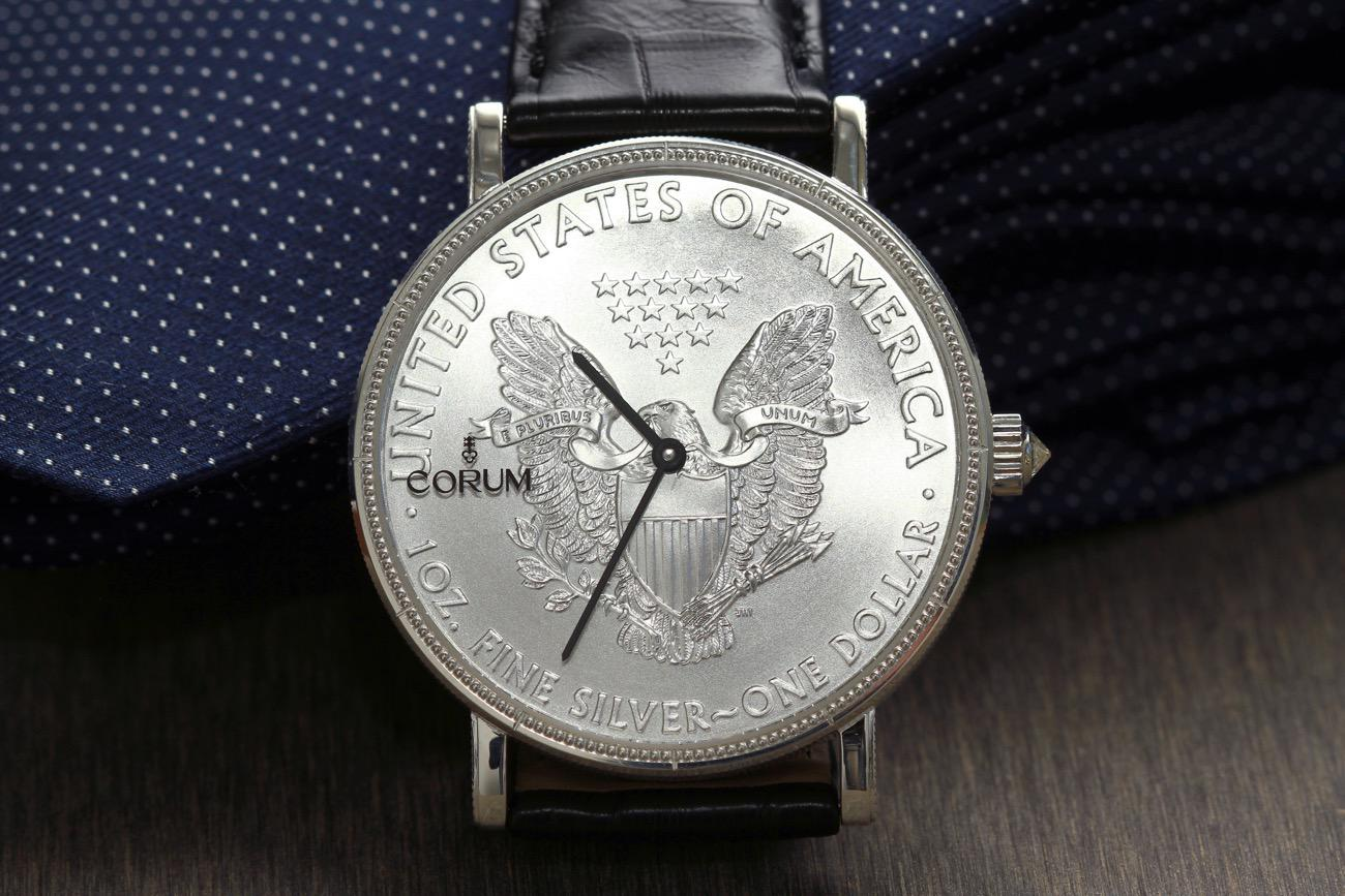 Discover The New Historical And Unique Corum Coin Watch