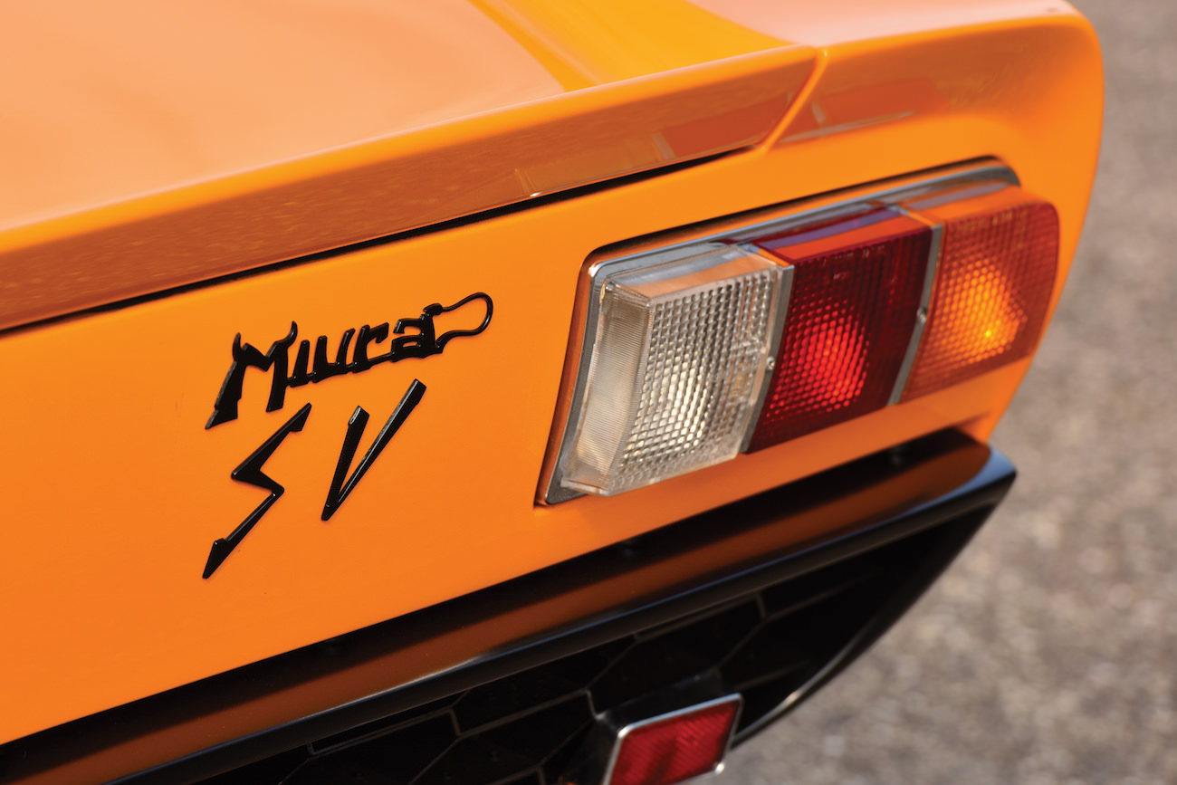 A Lamborghini Miura P400 Spinto Veloce From 1972 Auctioning By Sotheby S