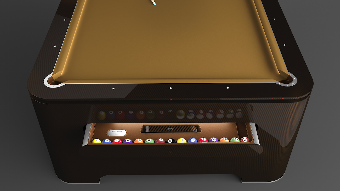 Elysium Pool Table The Future Pool Table Has Arrived And You Wont - El pool table