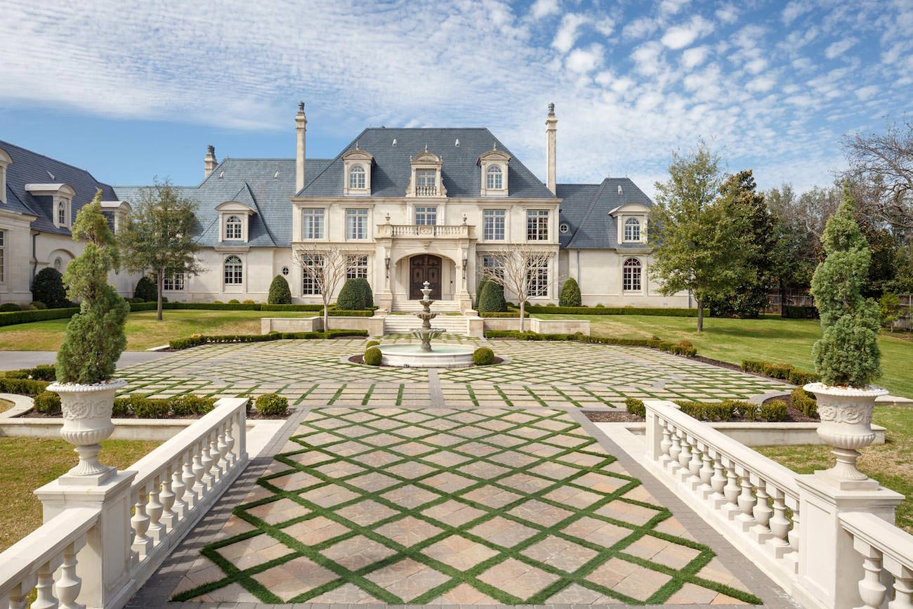 10711 Strait Lane Dallas An Incredible French Manor