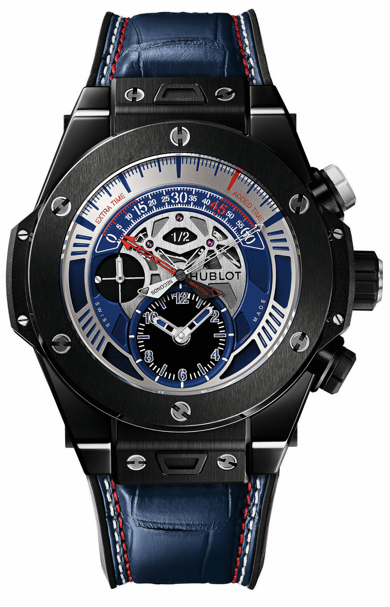 Become france first supporter during euro 2016 with a big bang unico chronograph for Watches of france