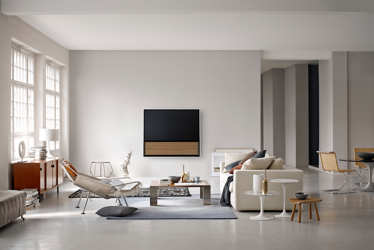 BeoVision 14: a true connected and high-tech piece of art designed by Bang & Olufsen