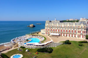 L'hôtel du Palais: Biarritz' pearl opens its gates on the ocean and French Basque country
