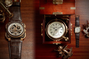 BR-X1 Chronograph Tourbillon: Bell & Ross changes its universe now turning itself towards marine