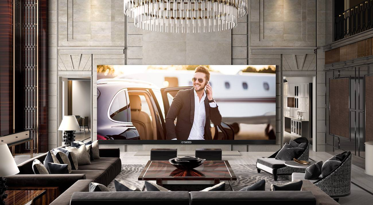 C SEED 262: if your living room is big enough, discover the largest 4K TV in the world