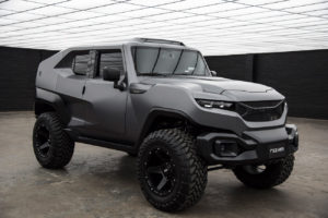 Rezvani Tank: take up all the challenges with the new extreme SUV